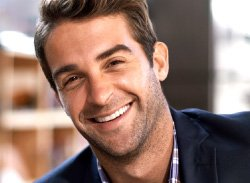 Man smiling - Implant Dentist Mercer Island
